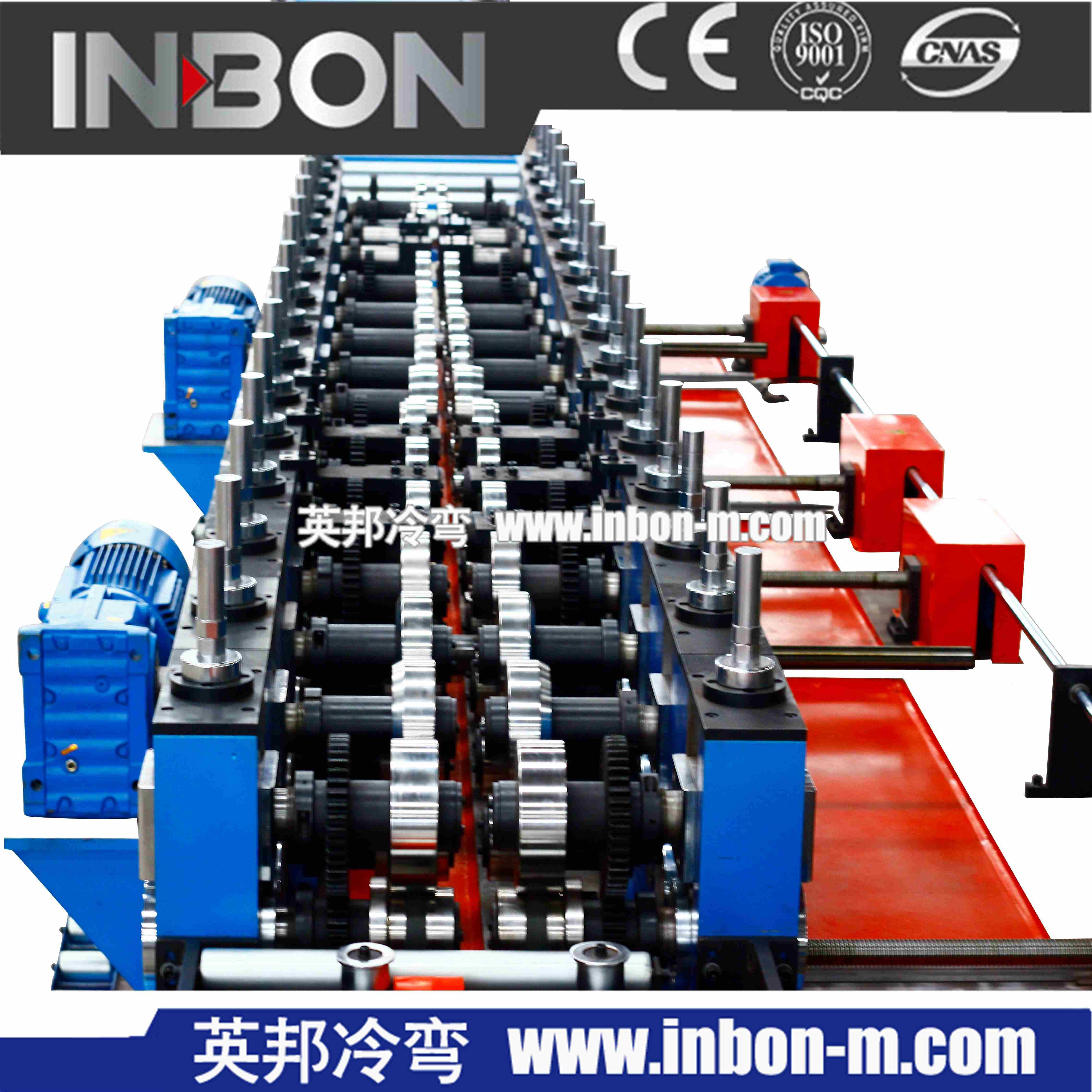 槽式桥架生产线